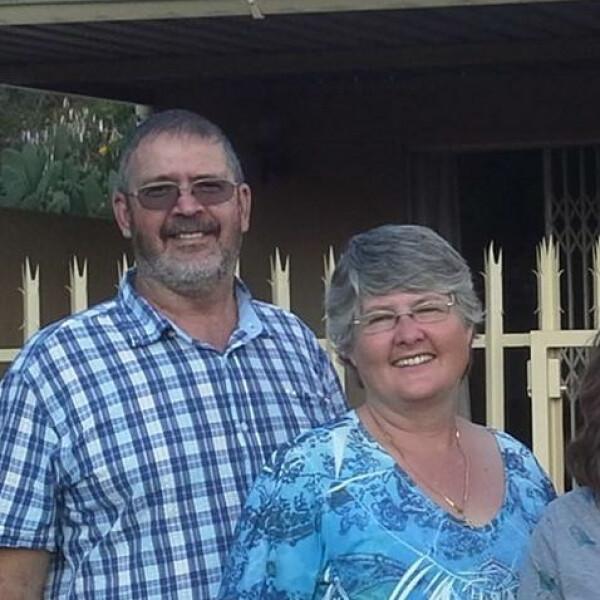 Richard and Geraldine Akers